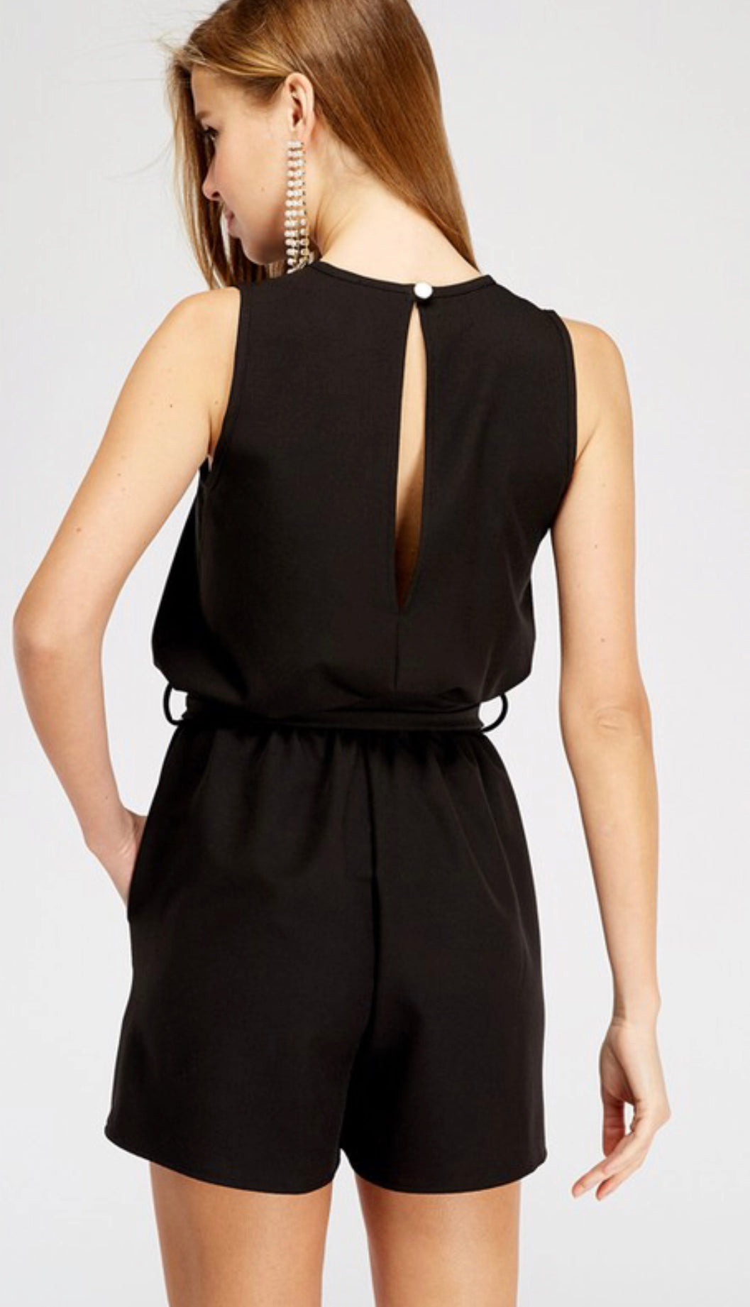 All About You Black Romper