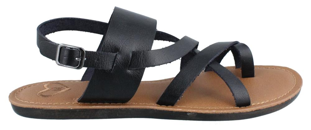 The Savannah Sandal - Black