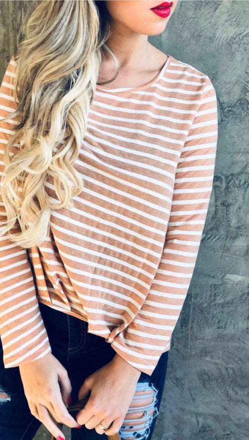 Simple & Sweet Long Sleeve Top