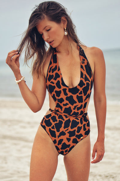 BALI ONE PIECE SAFARI/BLACK REVERSIBLE