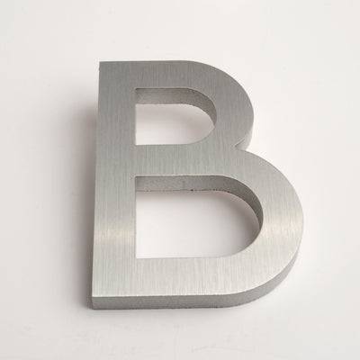 MODERN HOUSE LETTERS BRUSHED B