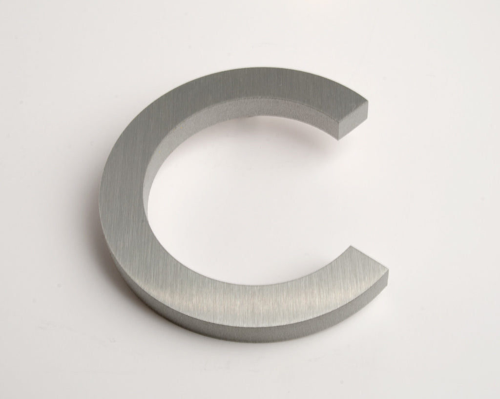 MODERN HOUSE LETTERS BRUSHED C