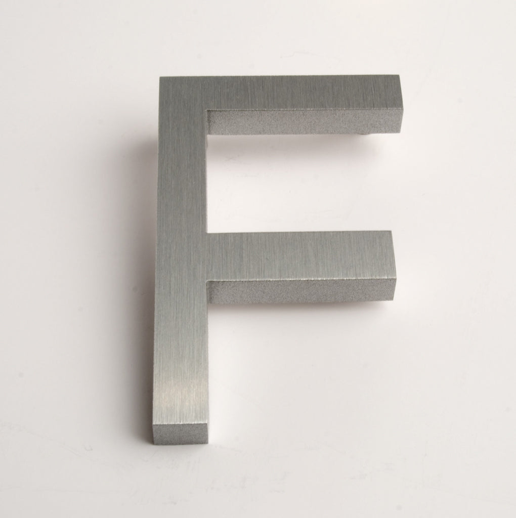 MODERN HOUSE LETTERS BRUSHED F