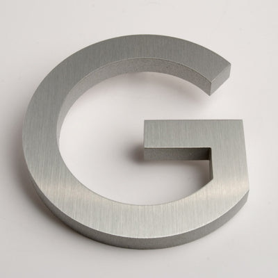 MODERN HOUSE LETTERS BRUSHED G