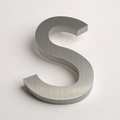 MODERN HOUSE LETTERS BRUSHED S