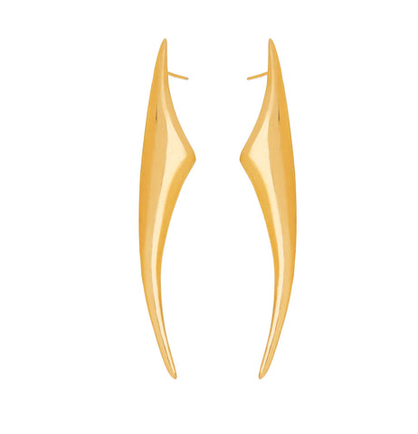 Scorpion Earrings - Gold