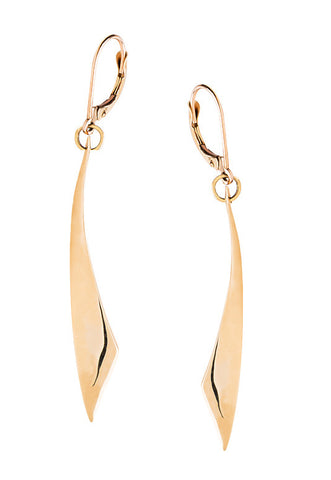 Sliver Earrings - Gold