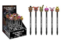 Five Nights at Freddy's Pop! Pens Complete Set All 6 from Wave 2 by Funko