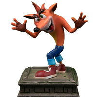 Crash Bandicoot Statue by First 4 Figures 16-inch Resin w/ Interchangeable Eyes by NECA