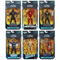 Black Panther Marvel Legends 6-Inch Action Figures Complete Set BAF Okoye by Hasbro