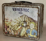 Fallout 4 Vault-Tec 111 Weathered Tin Tote Prop Replica Metal Lunchbox by FanWraps