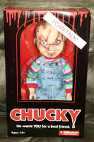 Child's Play Chucky Scarred Talking Mega-Scale 15-Inch Doll Action Figure