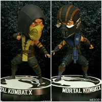 Mortal Kombat X Scorpion & Sub-Zero 6-Inch Bobble Heads by Mezco Toyz