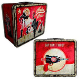 Fallout 4 Nuka Cola Weathered Tin Tote Prop Replica Metal Lunchbox - FanWraps - FanWraps