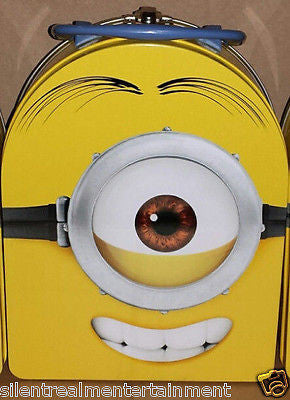Despicable Me Minion Phil (One-Eyed) Head Metal Lunch Box by Tin Box Company