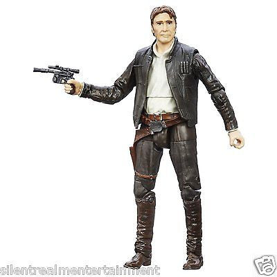 Star Wars Black Series Han Solo 6-Inch Action Figure Episode 4 A New Hope by Hasbro