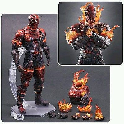 Metal Gear Solid V The Phantom Pain The Man on Fire Play Arts Kai Action Figure - Square-Enix - Square-Enix