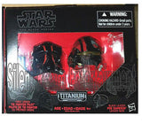Star Wars Black Series Die-Cast Metal Helmets Tie Fighter Pilot Elite & Poe Damero - Hasbro - Hasbro