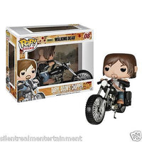 The Walking Dead Daryl Dixon with Chopper Pop! Vinyl Vehicle #08 - Funko - Funko