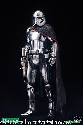 Star Wars Force Awakens ArtFX+ Captain Phasma 1:10 Scale Action Figure - Kotobukiya - Kotobukiya