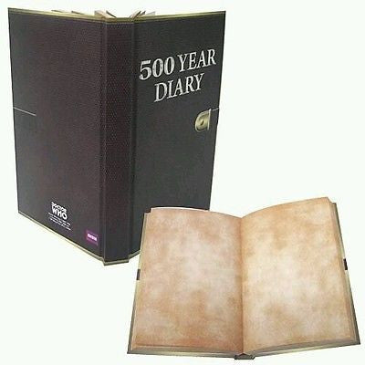Doctor Who 500 Year Diary Journal 8x5 320 pages by Bif Bang Pow