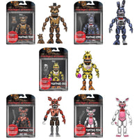 Five Nights at Freddy's 5-inch Action Figure Complete Set w/ Nightmarionne Build-A-Figure - Funko - Funko