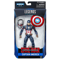 Captain America Civil War Marvel Legends Captain America Action Figure - Hasbro - Hasbro