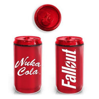 Fallout Nuka Cola Plastic Travel Can w/ Screw Lid - Just Funky - Just Funky