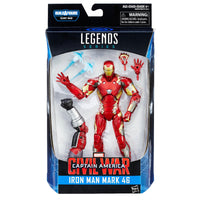 Captain America Civil War Marvel Legends Iron Man Mark 46 Action Figure - Hasbro - Hasbro