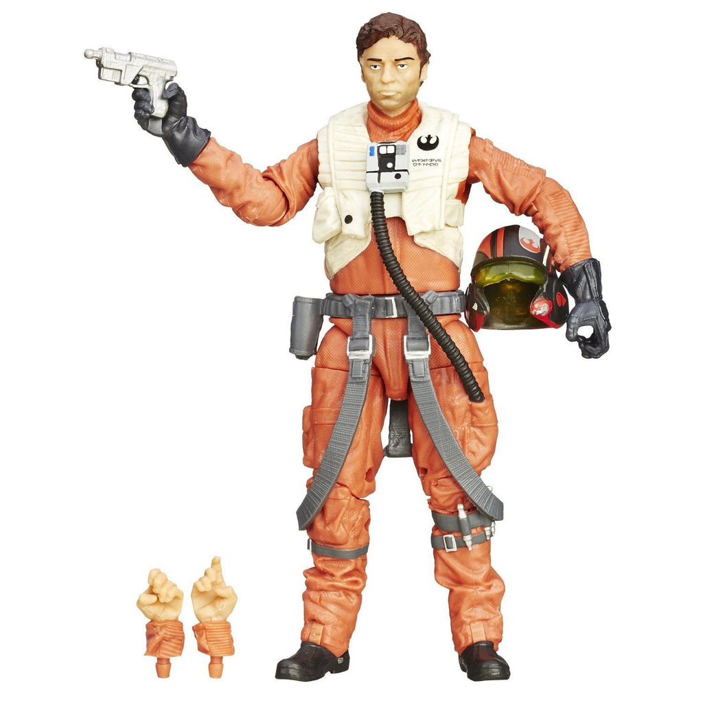 Star Wars Black Series Poe Dameron 6-inch Action Figure: The Force Awakens by Hasbro