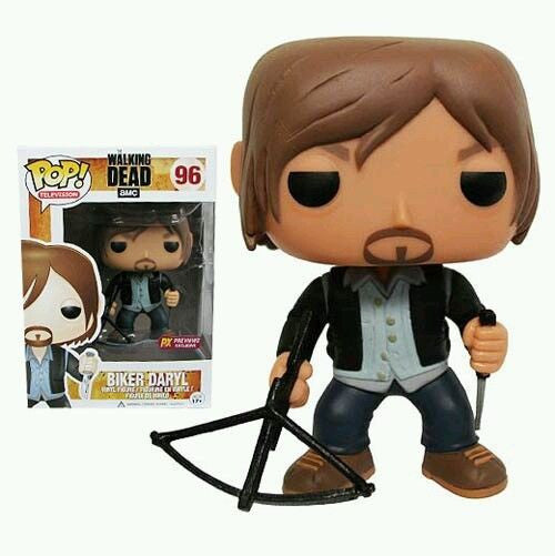 The Walking Dead Biker Daryl Dixon Previews Exclusive Pop! Vinyl Figure #96 - Funko - Funko