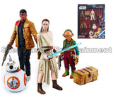 Star Wars The Force Awakens Takodana Encounter 3 3/4-inch Action Figures Set - Hasbro - Hasbro