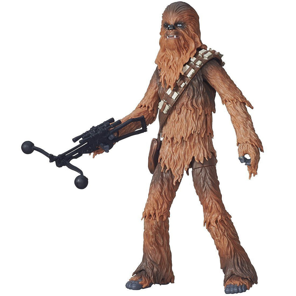 Star Wars Black Series Chewbacca 6-inch Action Figure: The Force Awakens - Hasbro - Hasbro