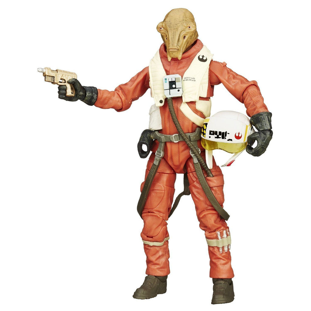Star Wars Black Series X-Wing Pilot Asty 6-inch Action Figure: The Force Awakens by Hasbro