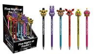 Five Nights at Freddy's Pop! Pens Complete Set All 6 from Wave 1 - Funko - Funko