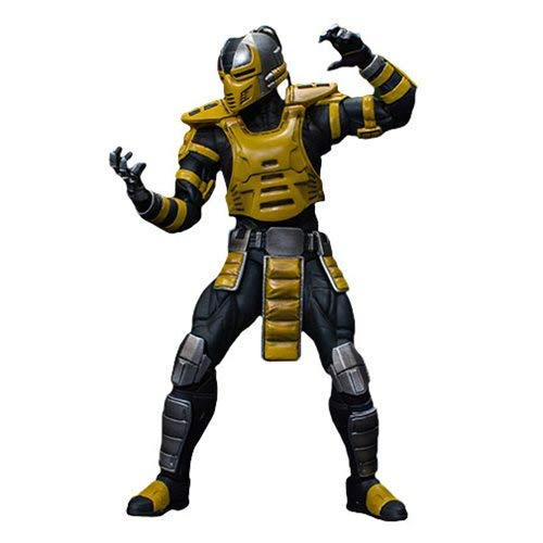 Mortal Kombat Cyrax 1:12 Scale Action Figure by Storm Collectibles