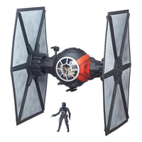 Star Wars Black Series First Order TIE Fighter Vehicle w/ Pilot: The Force Awakens by Hasbro