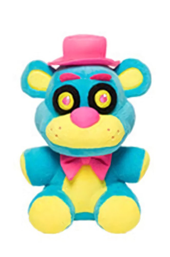 Five Nights at Freddy's 6-Inch Blacklight Freddy Blue & Yellow Plush