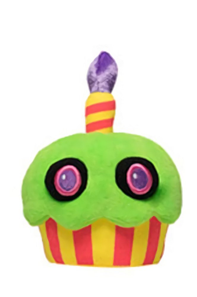 Five Nights at Freddy's 6-Inch Blacklight Cupcake Plush by Funko