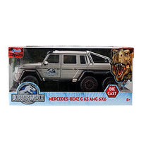 Jurassic World Mercedes G63 AMG 6x6 1:24 Die-Cast Vehicle - Jada Toys - Jada Toys