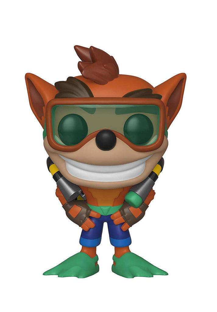 Crash Bandicoot with Scuba Gear #421 Funko Pop Figure