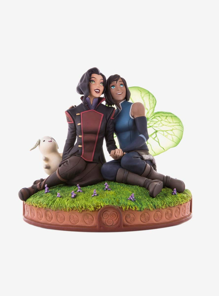 The Legend of Korra and Asami in the Spirit World Statue by Mondo