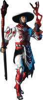 Mortal Kombat Raiden White Hot Fury Skin Bloody Variant