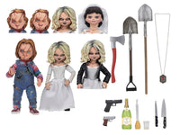 Bride of Chucky 7″ Scale Action Figure Ultimate Chucky & Tiffany 2-Pack by NECA