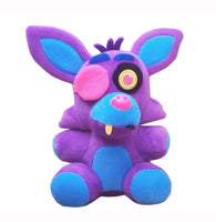 Five Nights at Freddy's 6-Inch Blacklight Foxy Purple & Blue Plush