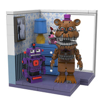 Five Nights at Freddy's Right Dresser & Door Small Construction Building Set