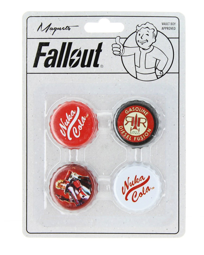 Fallout Bottlecap Magnets 4-Pack