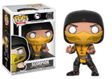 Mortal Kombat Scorpion Pop! Vinyl Action Figure #250 by Funko
