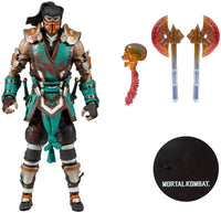 Mortal Kombat Sub-Zero Bloody Variant Frozen Over by McFarlane Toys