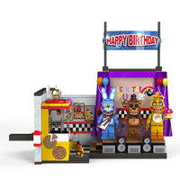 Five Nights at Freddy's Series 5 The Toy Stage Large Construction Building Set
